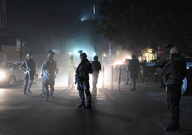 Atentado en Kabul (archivo)