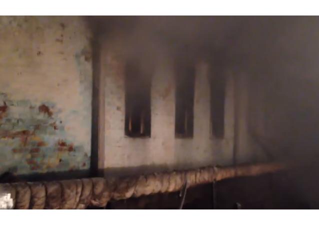 Incendio en un hospital psiquiátrico de Vorónezh
