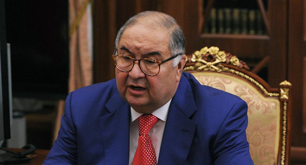 Alisher Usmánov, magnate ruso