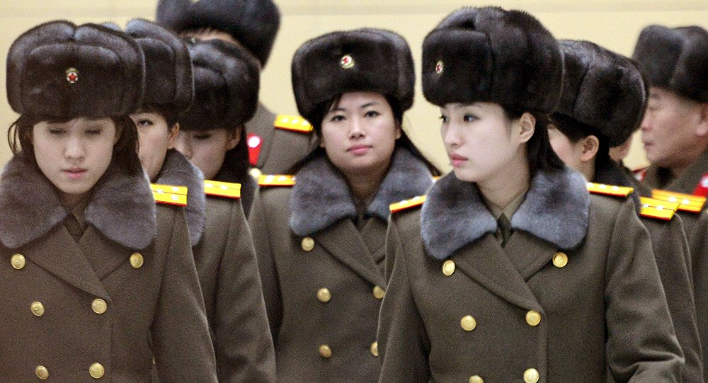 Grupo norcoreano Moranbong en Pekín