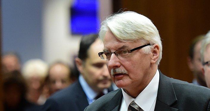 Witold Waszczykowski, ministro de Exteriores de Polonia