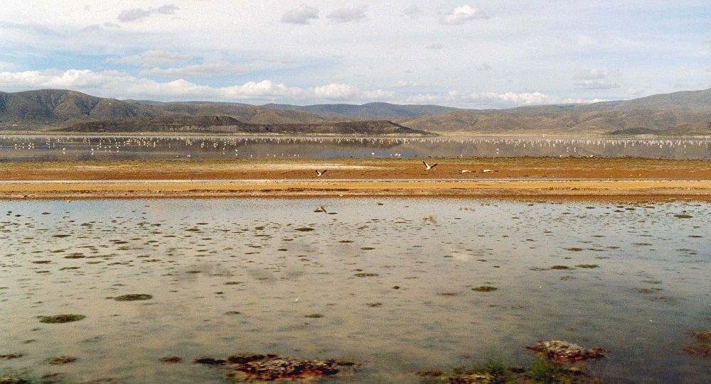 Lago Poopó (Archivo)