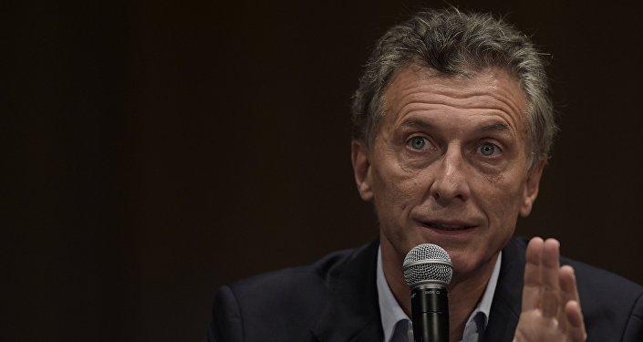 Mauricio Macri, presidente de Argentina