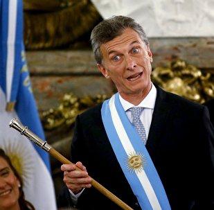 presidente argentino Mauricio Macri