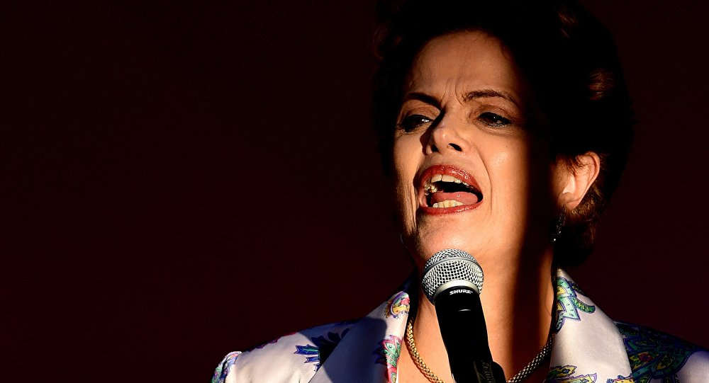 Dilma Roussef, expresidenta de Brasil