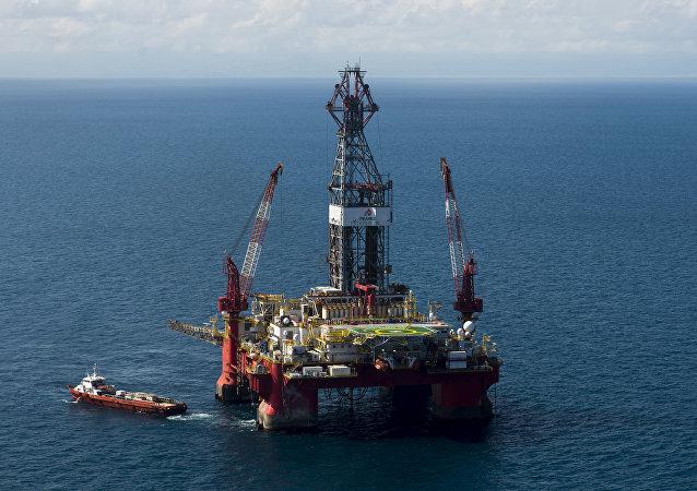 Plataforma petrolera de Pemex