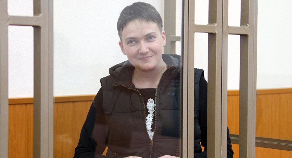 Nadia Sávchenko, piloto ucraniana