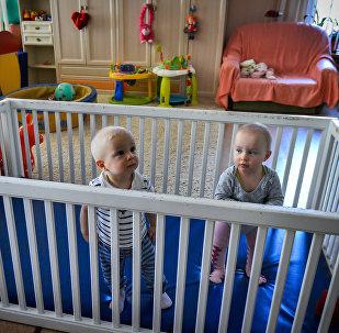 Orfanato en Rusia