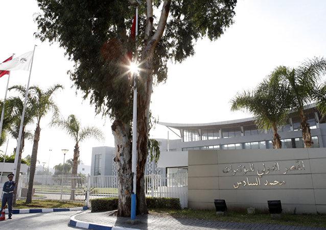 Centro Internacional de Conferencia en Marruecos donde se realizará la firma del acuerdo sobre la solución política del conflicto libio