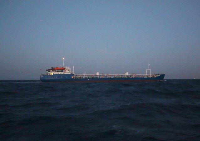 La vista desde una costa libia