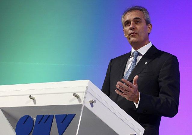Rainer Seele, el presidente de la Cámara de Comercio Exterior Alemano-Rusa AHK