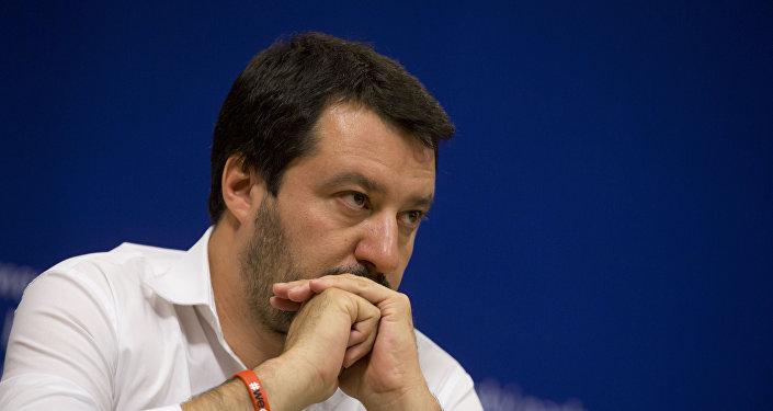 Matteo Salvini, el líder del partido Liga Norte