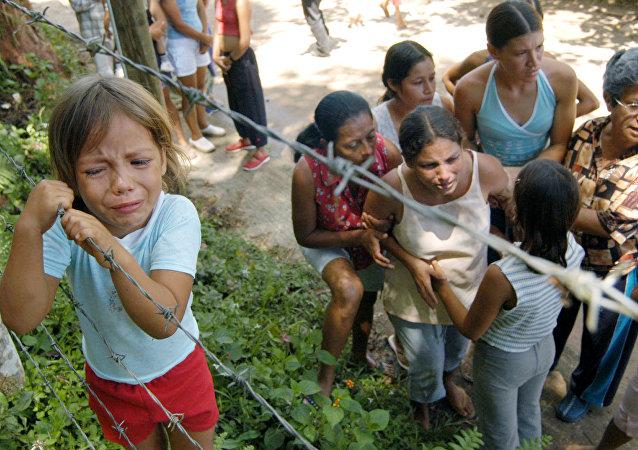 Víctmas de la violencia de las FARC en Colombia