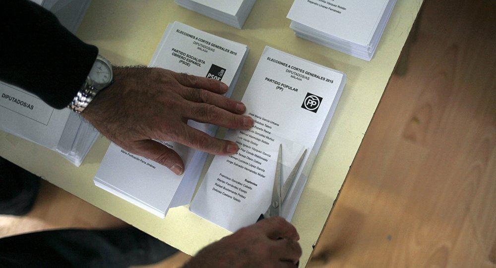 La ley electoral española beneficia a los partidos mayoritarios