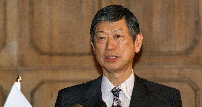 Masahiko Komura, vicepresidente del gobernante PLD de Japón