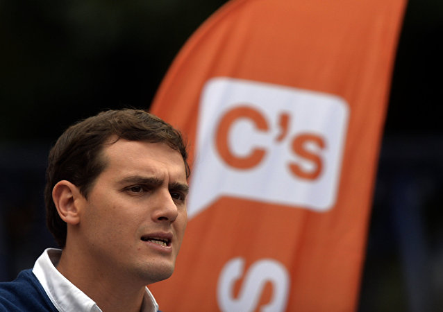 Albert Rivera, líder del partido Ciudadanos