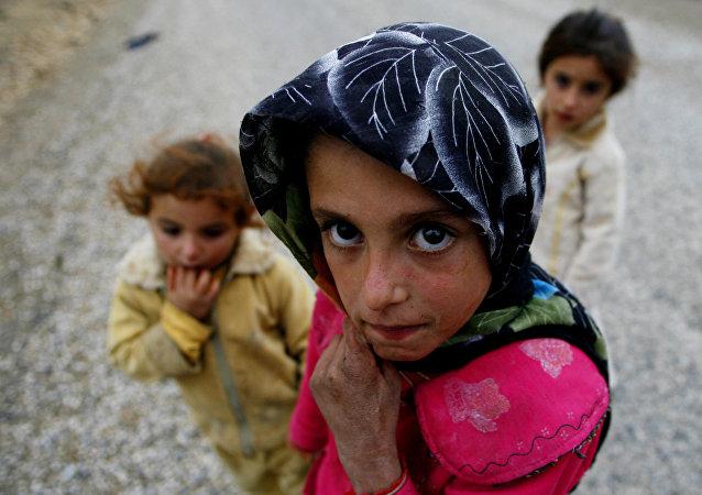 Niños en Turquía