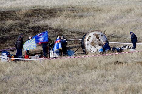 Descenso complicado en nave Soyuz TMA-11
