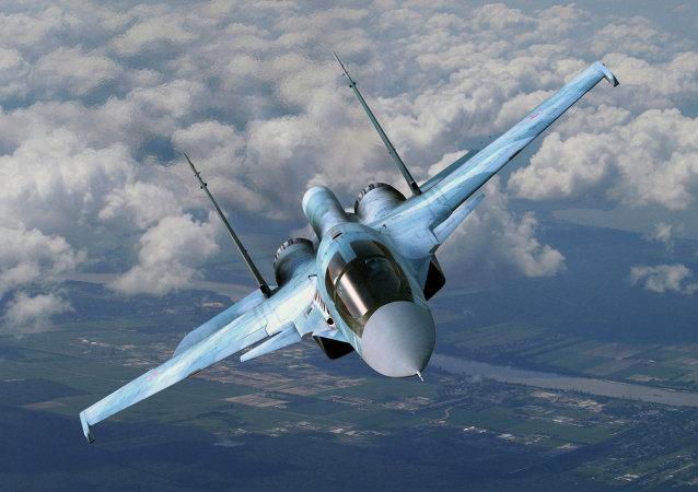 Cazabombardero Su-34 ruso