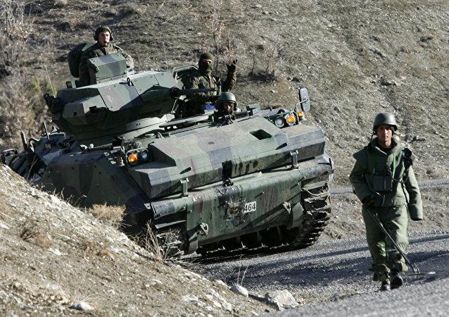Soldados de Turquía (archivo)