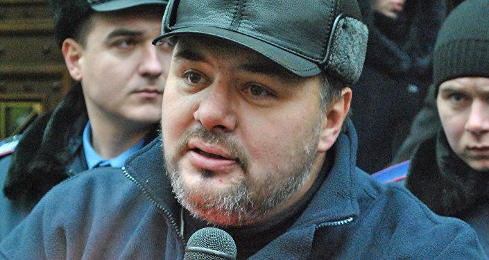 Ruslán Kotsaba, periodista ucraniano