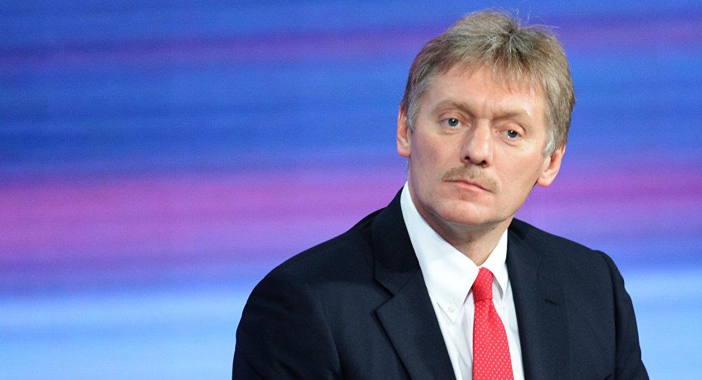 Dmitri Peskov, el secretario de prensa del presidente de Rusia Vladímir Putin