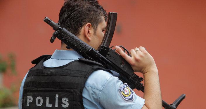 Un policía de Turquía (archivo)
