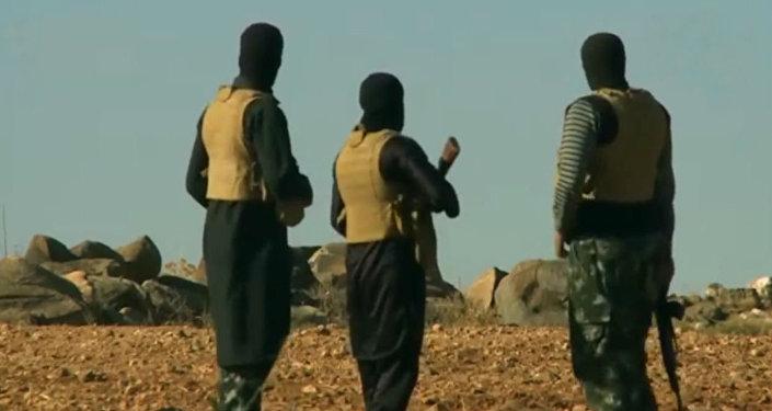 Yihadistas de Daesh en Afganistán