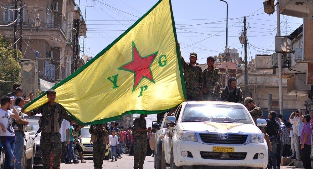 Fuerzas kurdas en Siria