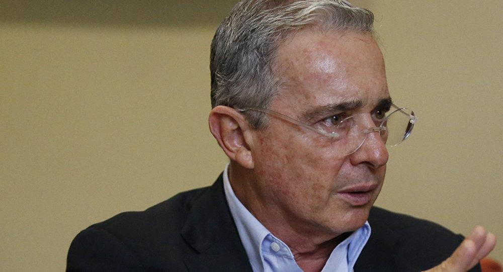 Álvaro Uribe Vélez, expresidente de Colombia (archivo)