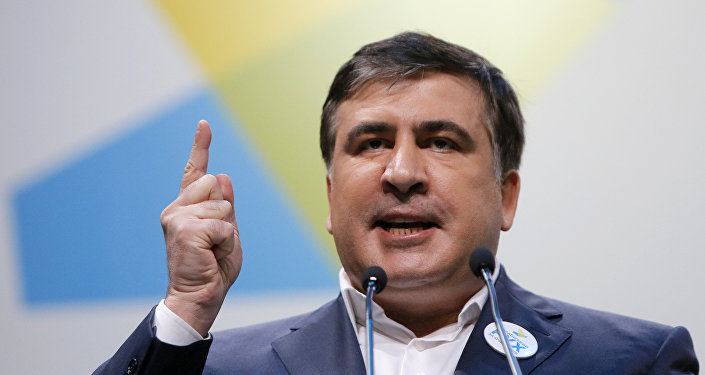 Mijaíl Saakashvili, el expresidente de Georgia y exgobernador de Odesa