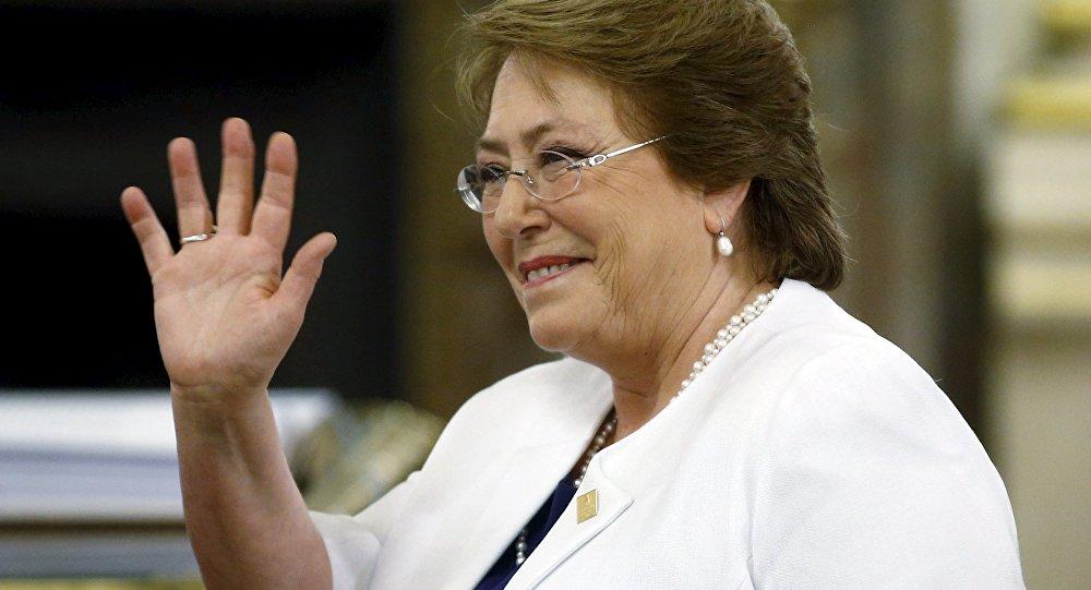 Michelle Bachelet, alta comisionada la ONU para los DDHH