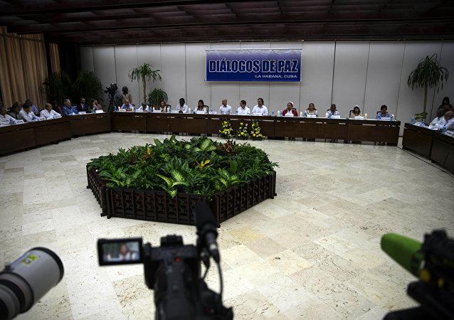 Diálogos de paz en la Habana