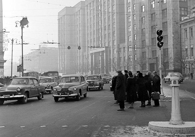 Moscú en el año 1959
