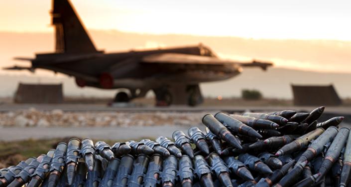 Un caza ruso en Siria