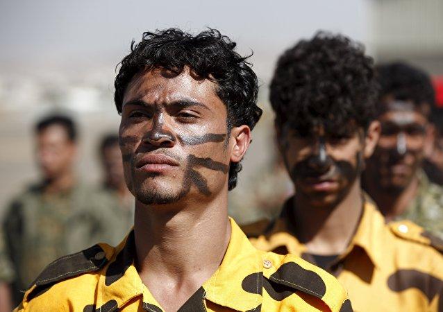 Los hutíes yemeníes