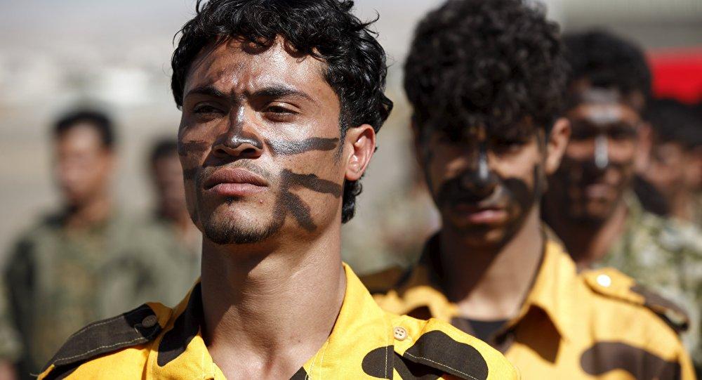 Los hutíes yemeníes (archivo)