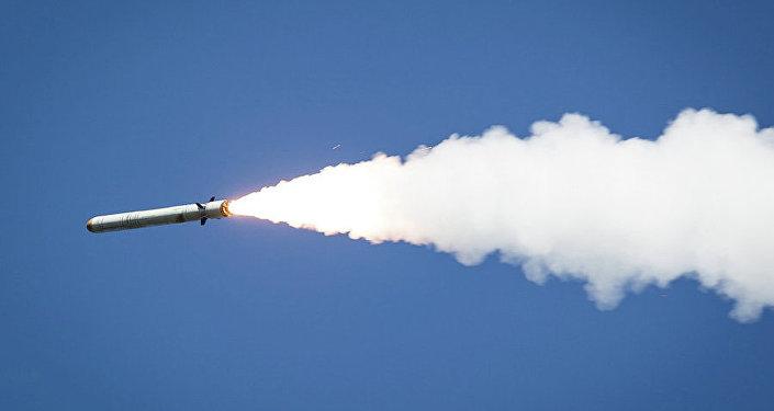 Un misil lanzado por el complejo ruso Iskander-M