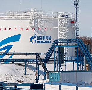 Refinerìa de petróleo de Gazprom Neft