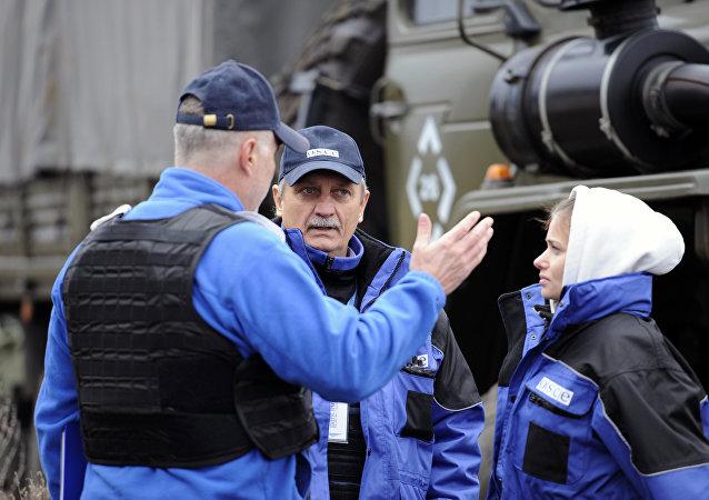 Observadores de la OSCE