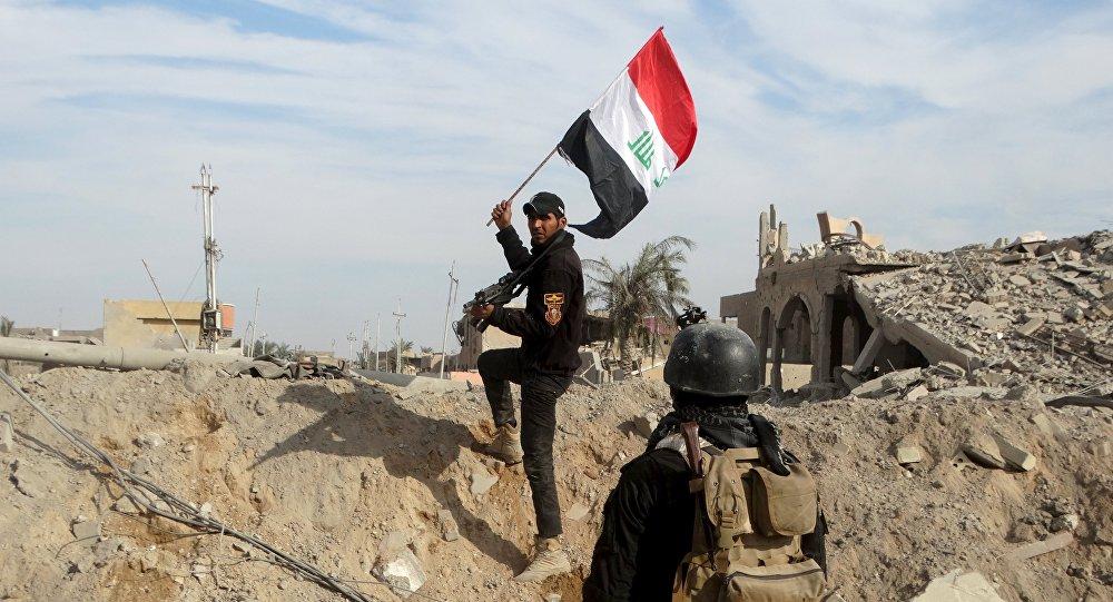 Unidades antiterroristas en la ciudad de Ramadi en Anbar