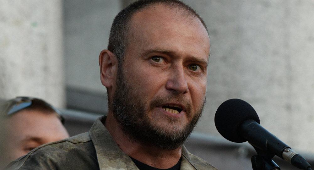 Dmitri Yarosh, exlíder del ultraderechista grupo ucraniano Pravy Sektor