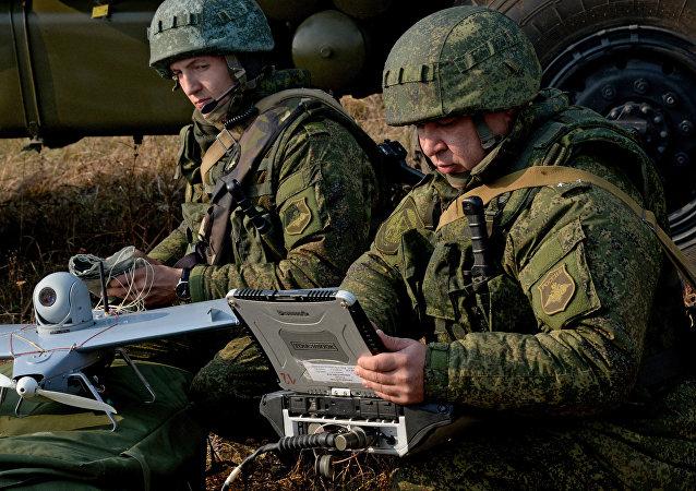 Militares rusos (archivo)