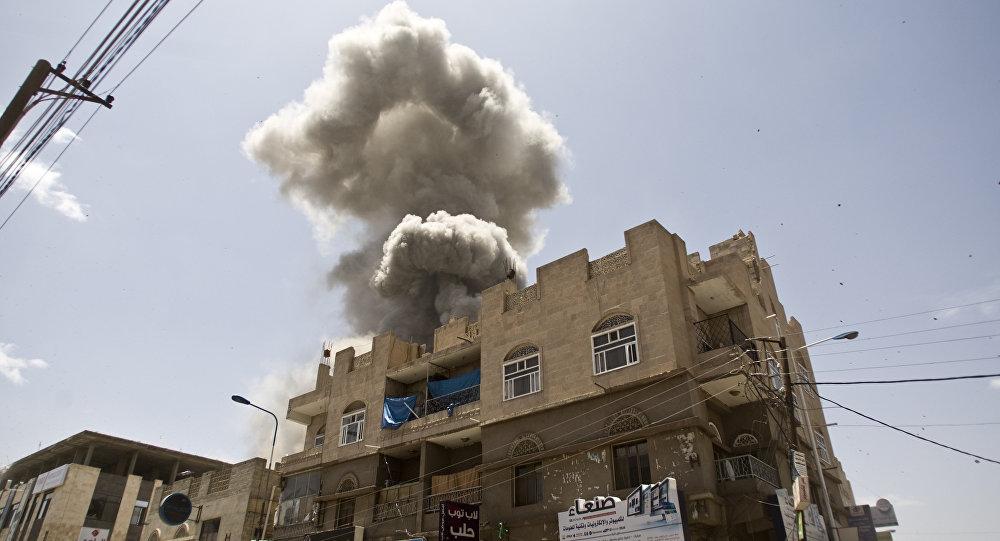 Bombardeos de la coalición en Yemen
