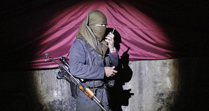 Un miliciano kurdo