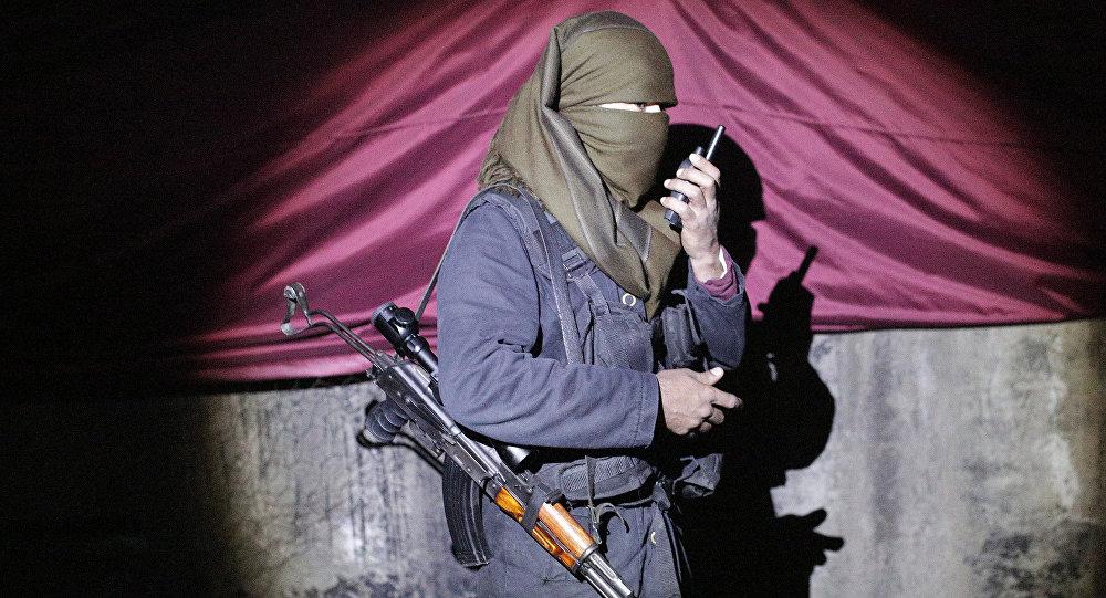 Militante del PKK kurdo