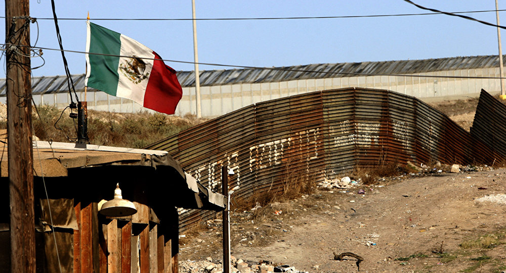 Frontera entre EEUU y México