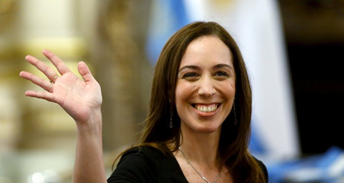 María Eugenia Vidal, gobernadora argentina