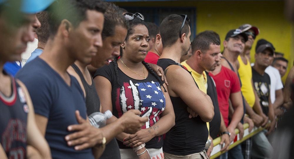 Migrantes cubanos en Costa Rica
