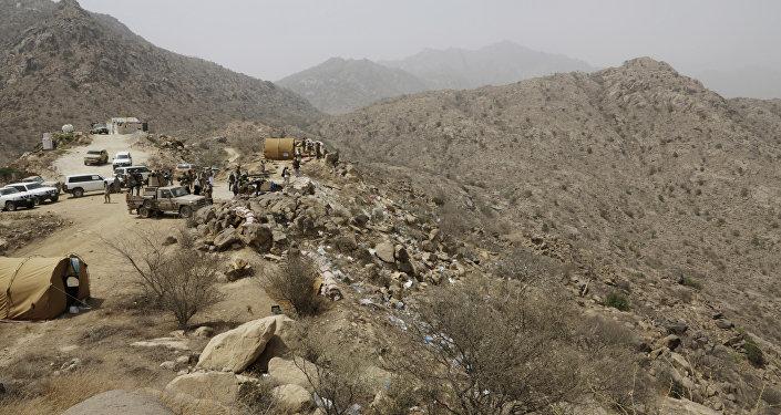 Frontera entre Arabia Saudí y Yemen